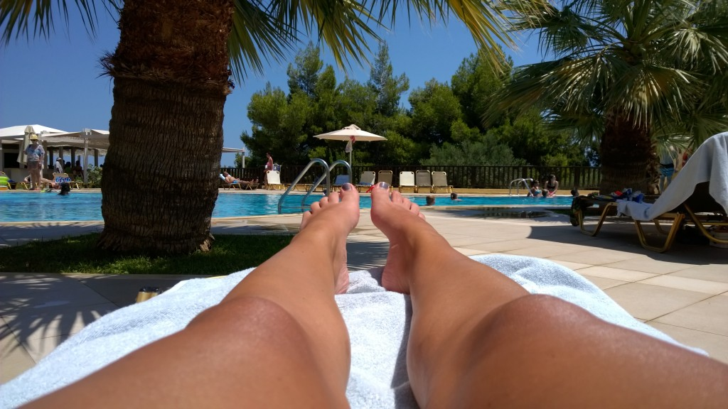 Sun+Pool=holiday!